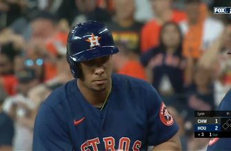 Michael Brantley drives in Jose Altuve to give Astros 2-1 lead over White Sox