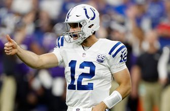 Colts fall short of comeback, as Luck struggles in long-awaited return home