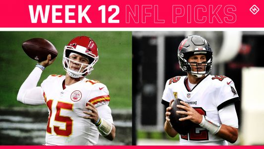 NFL picks, predictions against spread Week 12: Chiefs edge Bucs; Eagles stun Seahawks; Raiders rebound