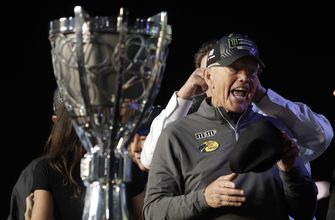 Gibbs wins 5th NASCAR title in season dedicated to late son