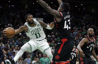 Kyrie Irving has season-high 43 points, Celtics beat Raptors