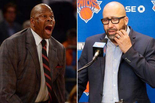 Patrick Ewing isn't happy with the Knicks firing David Fizdale