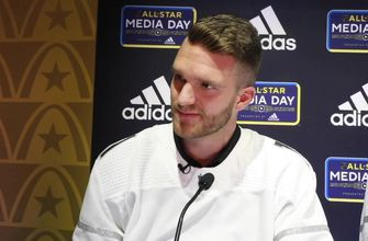 NHL All-Star Media Day: Florida Panthers forward Jonathan Huberdeau