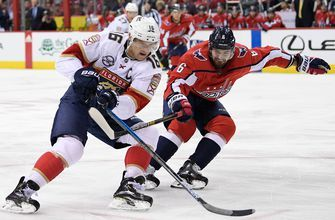 Panthers get on track in OT shootout win over defending champion Capitals