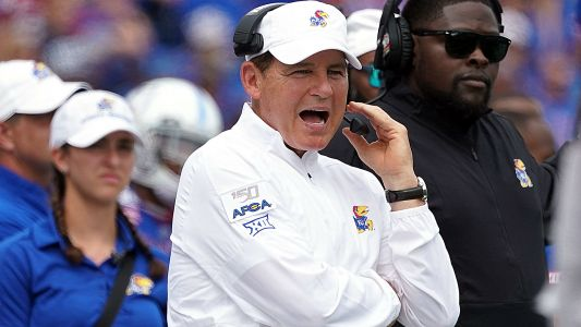 Kansas places Les Miles on leave, announces review of LSU allegations