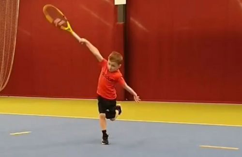6-year-old tennis star can't stop going viral