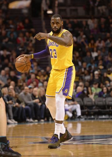 LeBron James and Lonzo Ball each notch triple-double in Lakers' rout of Hornets
