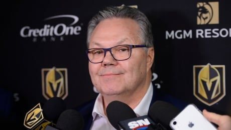 Golden Knights GM self-isolating after positive COVID-19 test