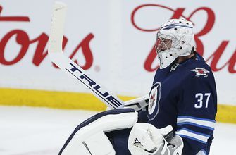 Hellebuyck makes 34 saves to lead Jets past Capitals 3-0