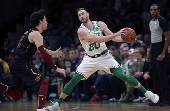 Hayward scores 14 in return, Celtics beat Cavaliers 110-88