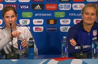 USA's Lindsey Horan on upcoming match vs. Chile: 'It's going to be very exciting'
