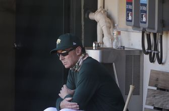 Slugging A's counting on fast start to challenge Astros