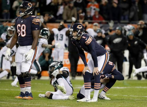 AP source: Bears release embattled kicker Cody Parkey