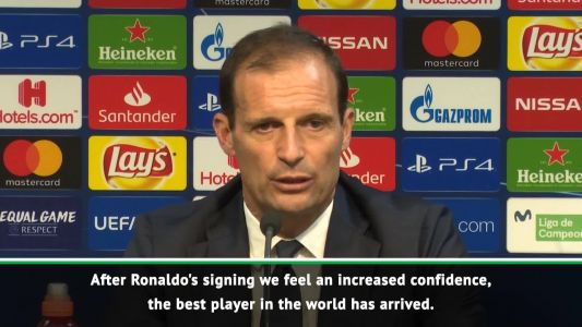 Juve better in Champions League with 'best player in the world' Ronaldo - Allegri