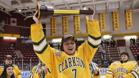 Canada's Elizabeth Giguere named top NCAA women's hockey player