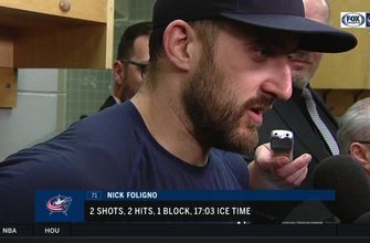 Nick Foligno commends Blue Jackets front office, Matt Duchene following win over Senators