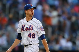 Jacob deGrom strikes out six in five innings, gives up just one hit as Mets beat Braves, 4-2