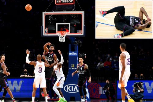 Joel Embiid was this close to one of the greatest shots in NBA history