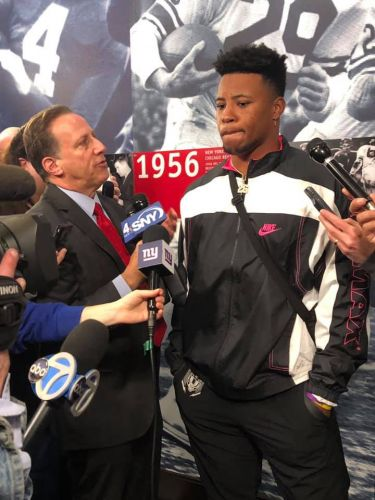 Saquon Barkley: I'll continue to prove to Giants they drafted the right guy last year