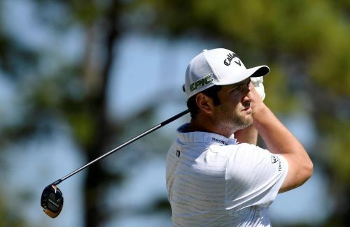 Simpson, Fitzpatrick lead WGC; Johnson, DeChambeau struggle