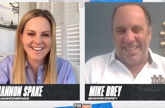 Notre Dame's Mike Brey on Quarantine life goes 1 Up 1 Down with Shannon Spake