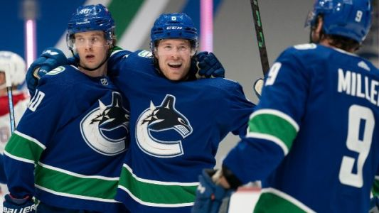 'That was a blast': Canucks all smiles after win in Kraken's home debut