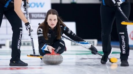 Fleury successfully defends Masters women's title with extra-end win over Jones
