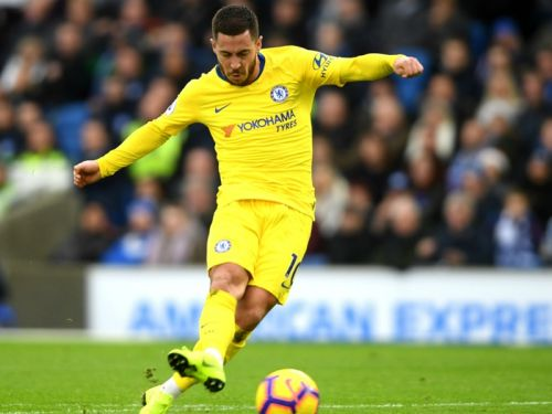 Brighton and Hove Albion 1 Chelsea 2: Sensational Hazard proves the difference