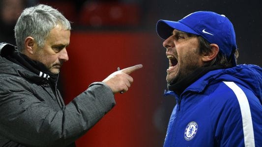 Mourinho claims Conte feud over ahead of FA Cup final reunion