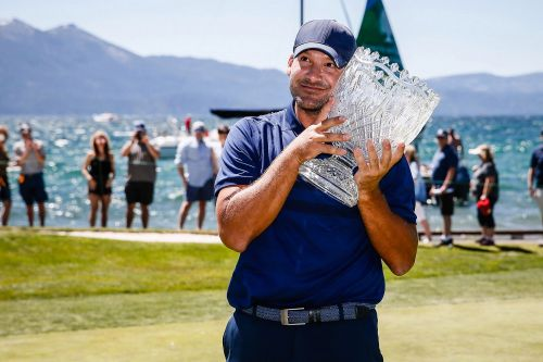 Tony Romo wins celebrity golf tournament for second straight year