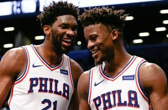 Skip and Shannon comment on Jimmy Butler and Joel Embiid trolling the Timberwolves