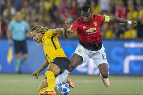 Watch: Paul Pogba scores twice in Manchester United Champions League opener