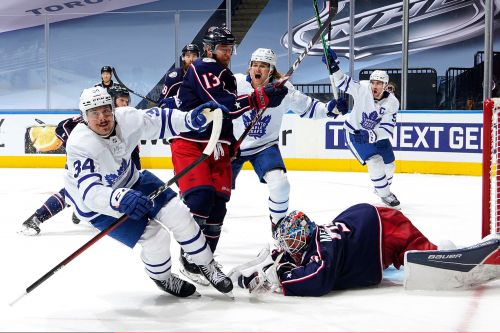 Leafs pull off absurd comeback to stun Blue Jackets in NHL playoffs