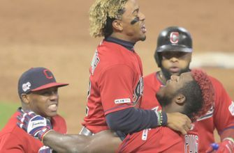Puig's 10th-inning single lifts Indians to 2-1 walk-off win over Tigers