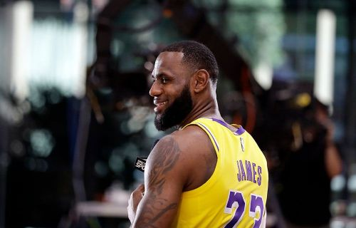LeBron on expectations for the Lakers