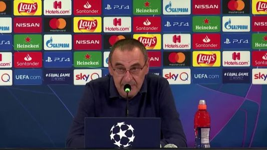 Devastated Sarri believes he will not be judged on one match