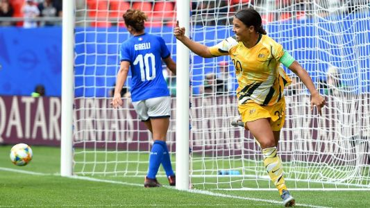 Sam Kerr opens up about bond with brother