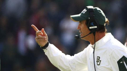 Fired Baylor Coach Art Briles Hired to Lead High School Football Team