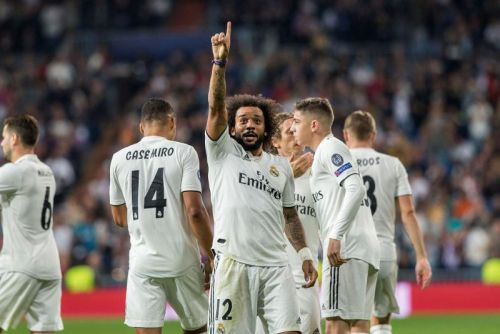 Watch: Marcelo scores Champions League goal for Real Madrid