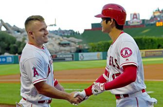 Shohei Ohtani on Mike Trout's contract: 'If anyone deserved it, it's Mike'