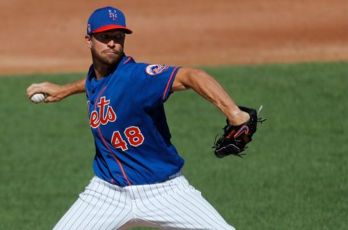 Jacob deGrom exits Mets scrimmage early with back issue
