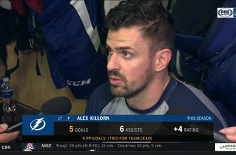 Alex Killorn on 2-goal night, Lightning's quick start vs. Rangers