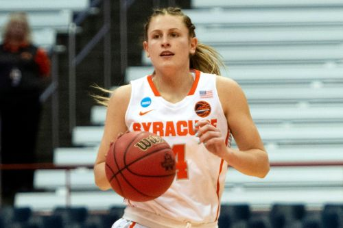 Tiana Mangakahia stars for Syracuse in first game since breast cancer recovery