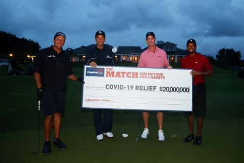 Tiger, Phil, Brady, Manning 'Match' sets viewership record