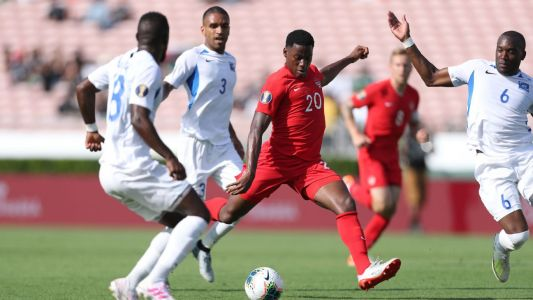 Canada rout Martinique in Gold Cup opener match