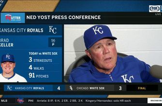 WATCH: Ned Yost discusses bench-clearing incident in Royals-White Sox game