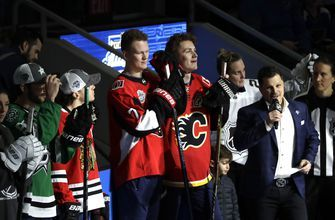Tkachuk brothers share first All-Star Game in their hometown