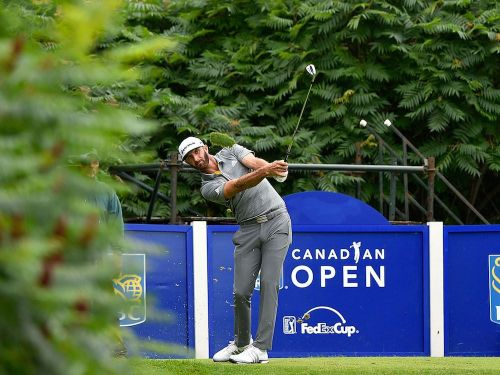 Dustin Johnson showing hints of his world-beating form at Canadian Open