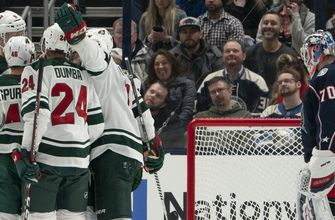 Blue Jackets shut out by Wild 5-0