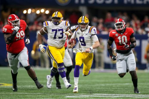 No. 1 LSU defeats No. 4 Georgia to win first SEC title since 2011